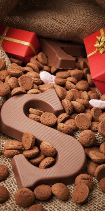 Chocoladeletter voor Sinterklaas